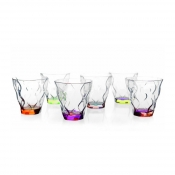 RCR Crystal GlassSet 6 Bicchieri Liquore 7 cl Crystal Glass