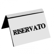 Reserved Brass Chrome 9x5 Inches, 5