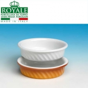 Royale White Stackable Bowl Catalan Cream Cm 12,5