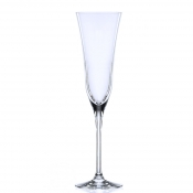 Sabina Calice Flute Champagne 17 cl Crystal Glass Set 6 Pz
