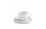 Square Bianco Tazza The Cl 20 C/Piattino