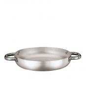 French Omelet Pan Cm 24 Aluminium Paderno 6100 Line